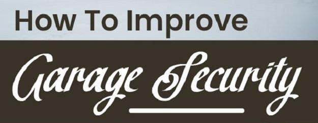 How To Improve Garage Security